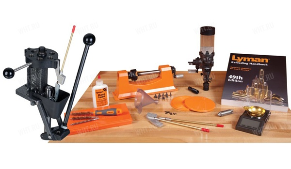(7810146) Набор для релоадинга T-Mag II Deluxe Expert Kit - пресс T-Mag II, триммер Universal Trimmer, весы 1500 Micro-Touch, дозатор пороха Lyman #55 (США)