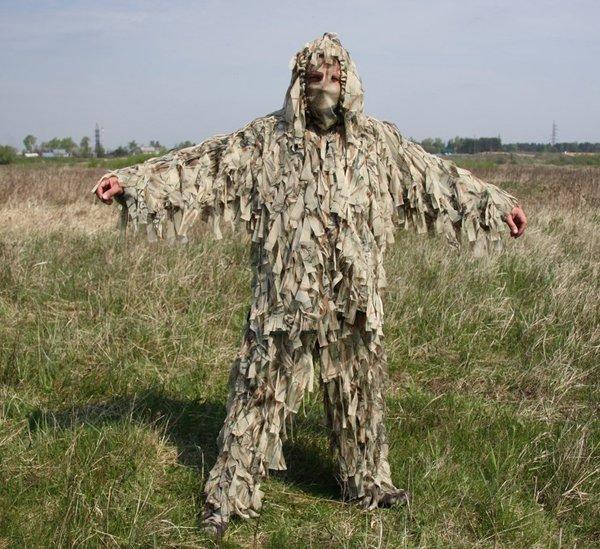 Маскировочный костюм леший  видео