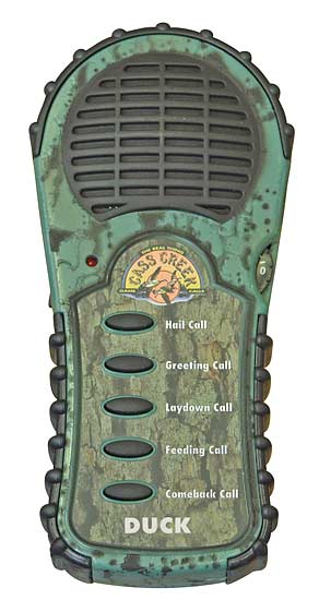 Электронный манок Cass Creek на утку, 5 голосов с тремя батареями в