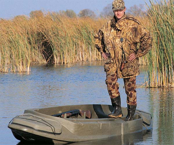 фото лодки с охотниками