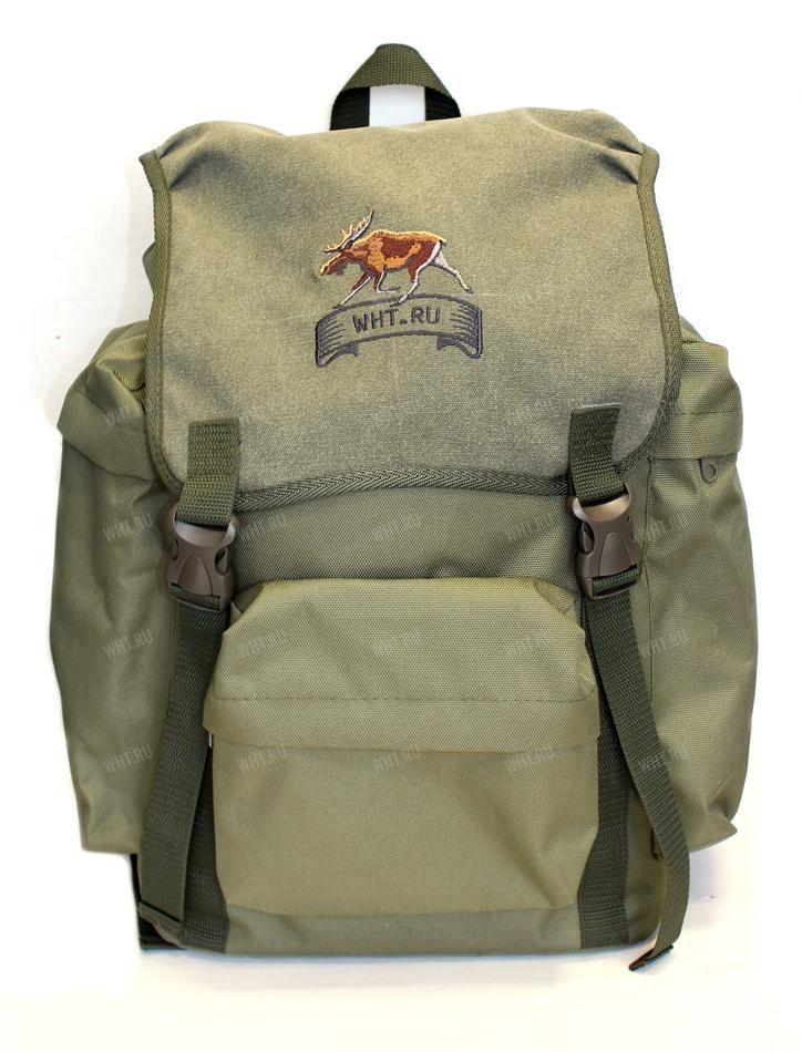 Рюкзак 25 л. брезент (цвет-зелёный) (изображение - лось) 02227-1 купить в интернет-магазине WHT.ru, доставка по всей России