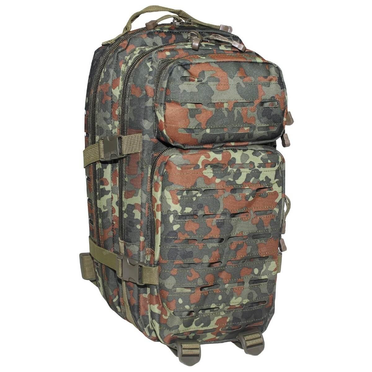 06c743cc21d5 Тактический рюкзак US Assault I Laser (30 литров), камуфляж Flecktarn