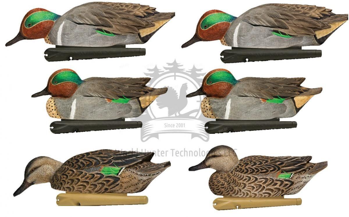 Комплект Avian-X полноразмерных чучел чирков - TOPFLIGHT Green-Winged Teal