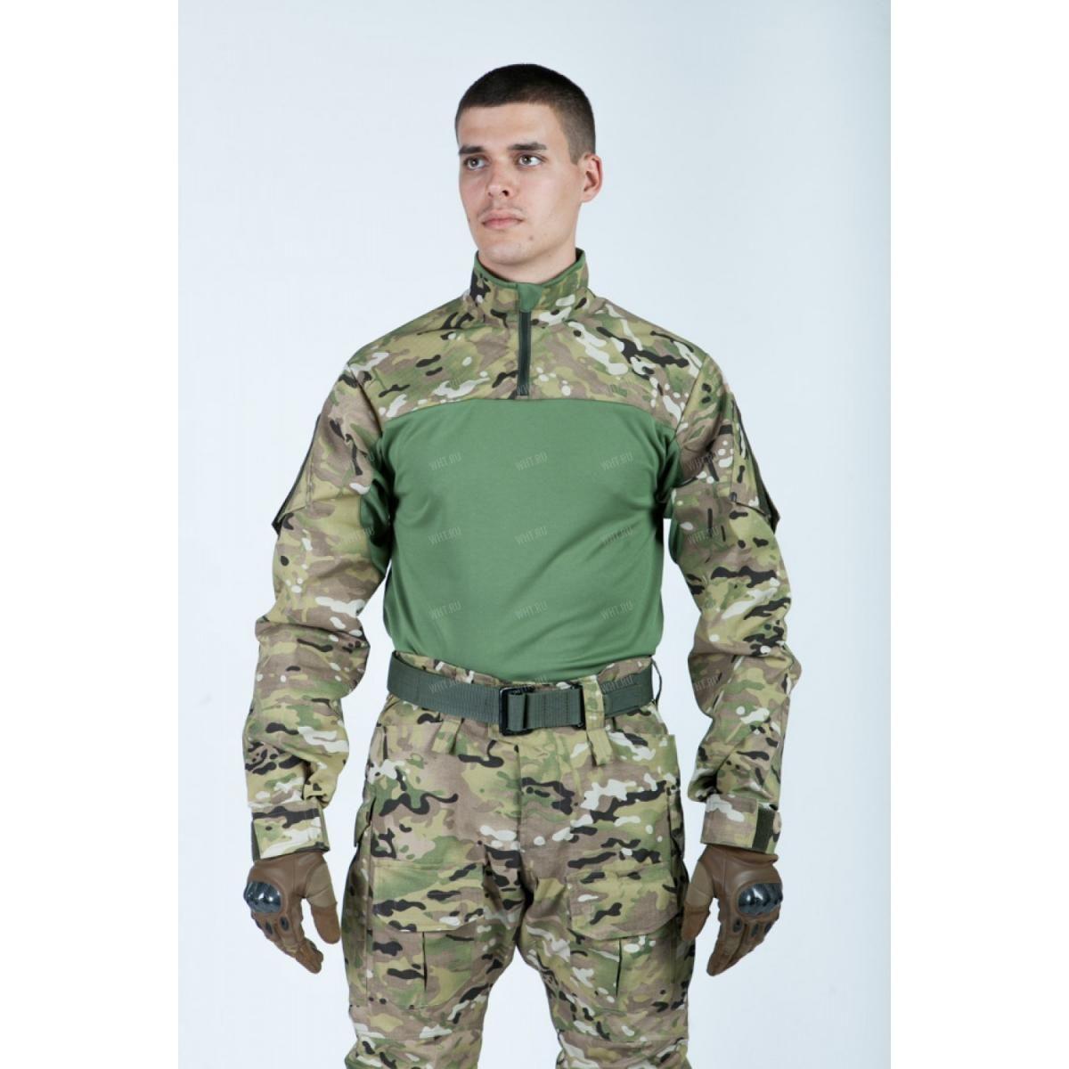 89d242fd1c14 Боевая рубашка Giena Tactics Тип 1, камуфляж - Multicam купить в ...