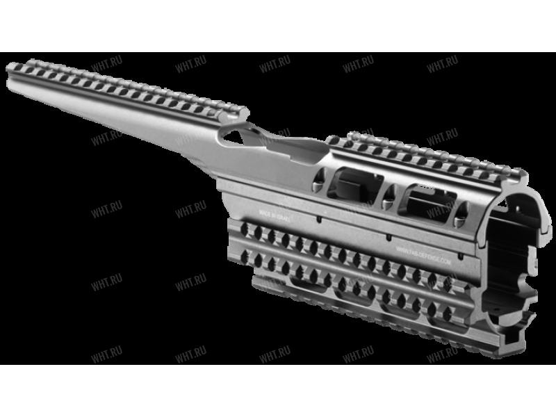 Алюминиевая рельсовая система Picatinny (цевьё) FAB-Defense для AK47/АК74/АК74М/АК100-ой серии/Сайга