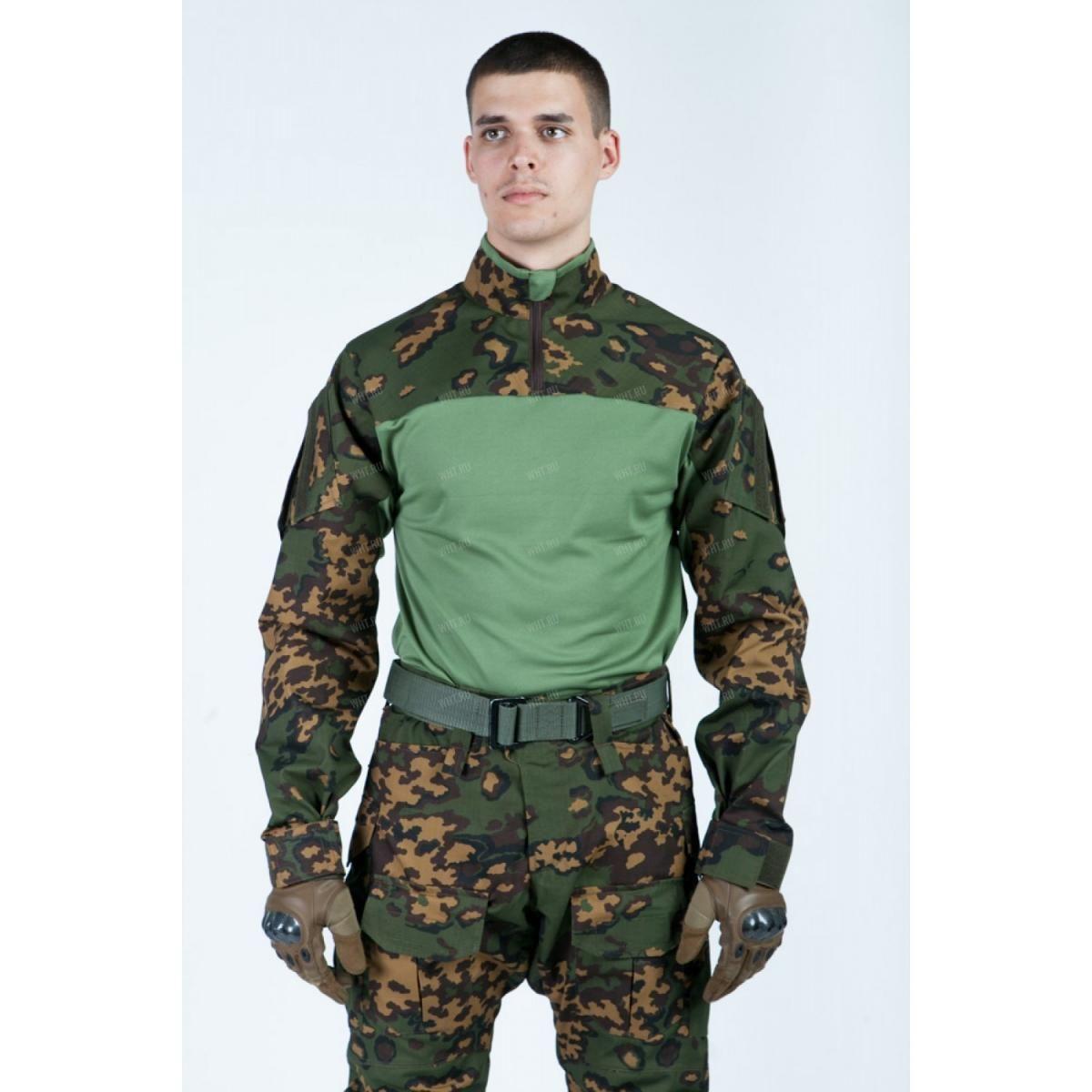 76b450407499 Боевая рубашка Giena Tactics Тип 1, камуфляж - Partizan купить в ...
